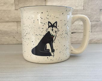 Holiday Fox Campfire Mug
