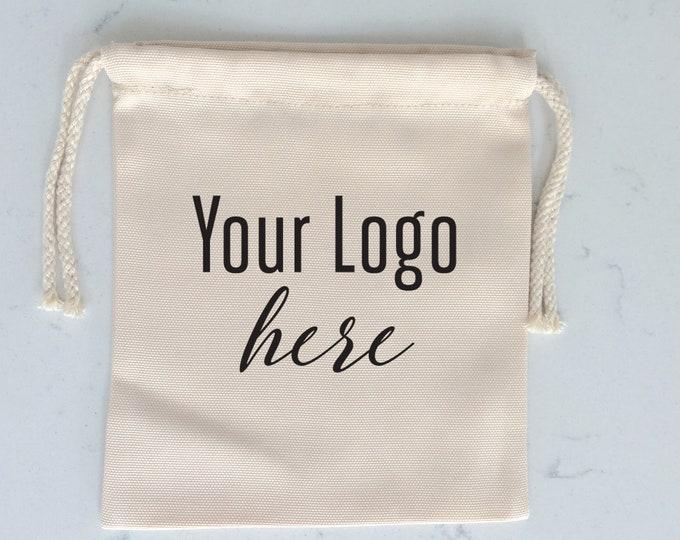 Drawstring Bag, Custom Printed Logos, Conferences, Gift Bags