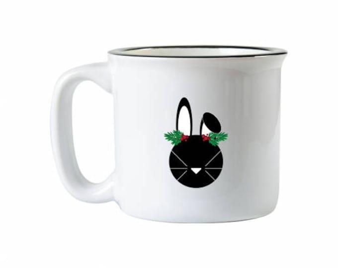 Holiday Bunny Mug