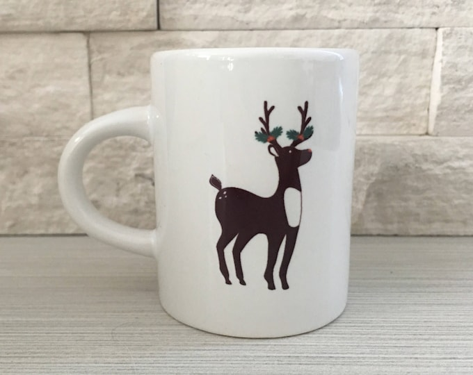 Holiday Deer Espresso Mug