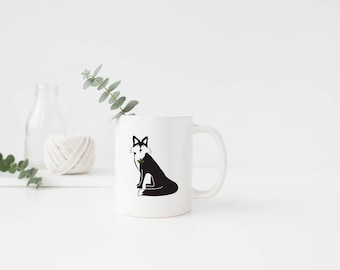 Holiday Fox Mug