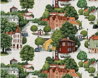 Scandinavian Cotton fabric Green Curtain fabric Tablecloth fabric Home decor fabric Wall art