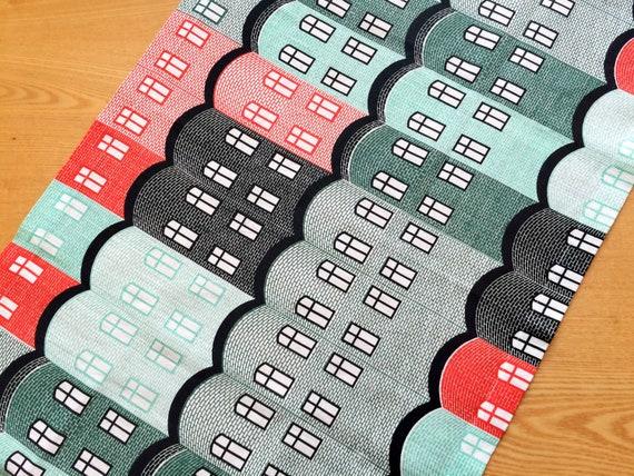 chemin de table lin ou nappe table scandinave toile de lin etsy. Black Bedroom Furniture Sets. Home Design Ideas