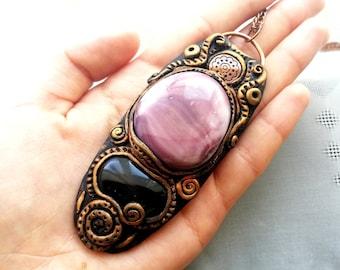 Spiritual Jewelry Boho Chic Woman Bohemian Jewelry Metaphysical Jewelry Native American Necklace Gemstone Necklace Handmade Jewelry Pandora