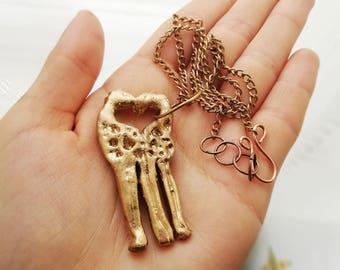 Giraffe Necklace Gold Color Pendant Boho necklace Elegant necklace Best Seller Bohemian necklace Top Seller Necklace Unique Gift for her