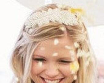 Crystal 1920s Flapper Headband Headpiece,The Great Gatsby, Bridal Rhinestone Headband, Wedding Headband, Bridal crystal rhinestone Headpiece