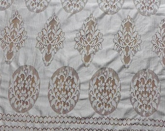 Chantilly Lace Wider off white  for Shawls, Mantilla, Victorian Gowns, Lingerie