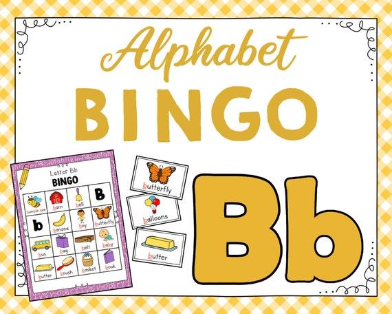 Letter B Bingo Game