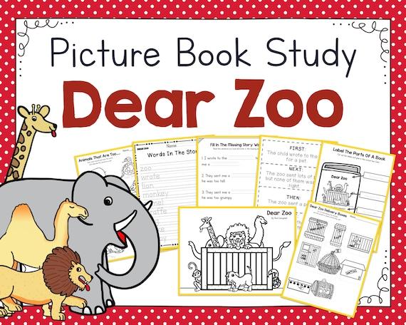 Dear Zoo Picture Book Study Companion