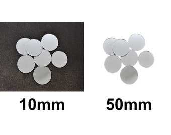 25pcs Silver Rectangle Glass Mirror Glue On Cabochon Decoration Hand Embroide...