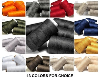 1pc 100/% Polyester Jeans Sewing Thread 200m 30x3 Other Threads Haberdashery