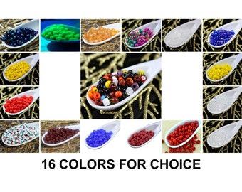 11566 Crystal Matted 20 g Czech Drop Preciosa seed beads size 20