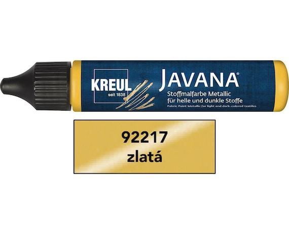 Textile Metallic Paint Javana Pen 29ml Gold CK 92217