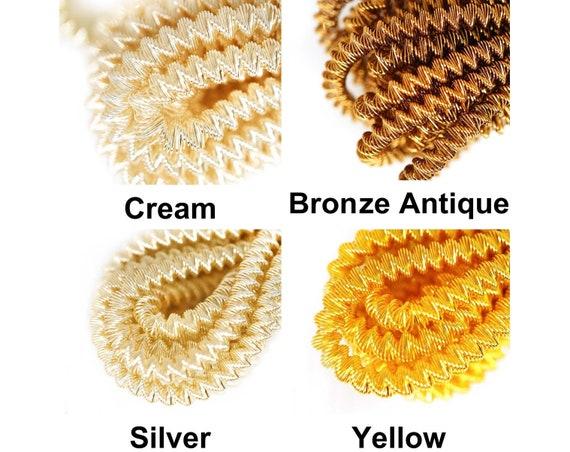 10g Gold Round Bullion Spiral Copper Hand Embroidery French Fine Metallic Wir...