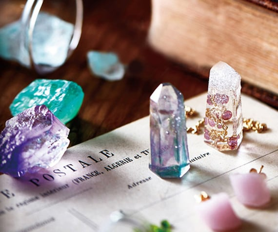 Izabaro UV Resin For Jewelry Making Transparent Clear Solar Ultraviolet Hard ...