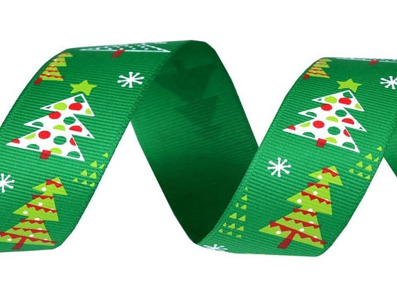 Navidad Robin del grosgrain Cardmaking Craft Supplies 15mm de ancho x 2m festivo Craft