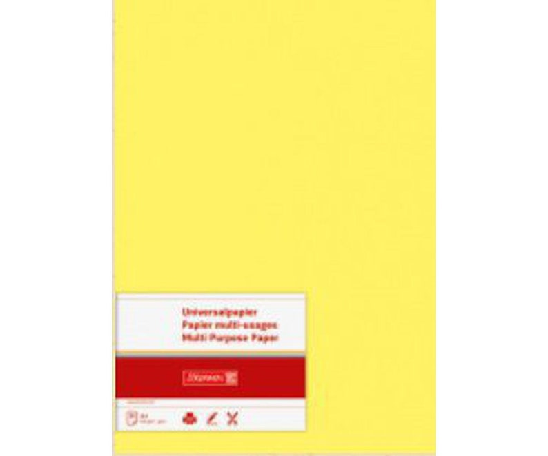Collage Paper Heyda 50 Sheets Of Universal Paper A4 80g Yellow Art Supplies Colorful Papers Card Making Art Supplies Blank Paper
