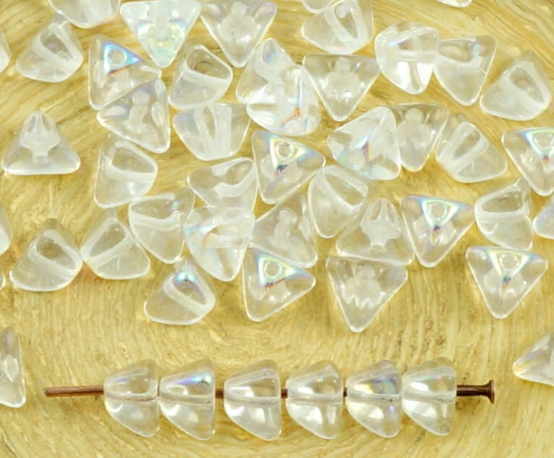 100pcs Silver Gold Crystal Rhinestone Rondelle Spacer Beads DIY 6mm 8mm Pip CA