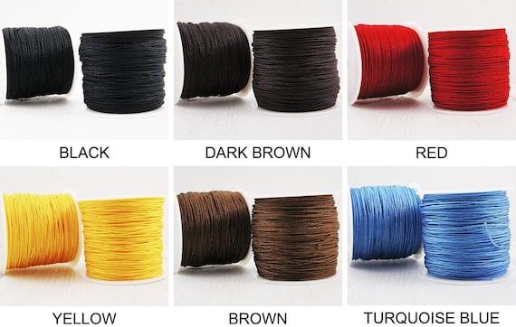 50m Nylon Jewelry Beading Thread String Cord 1mm