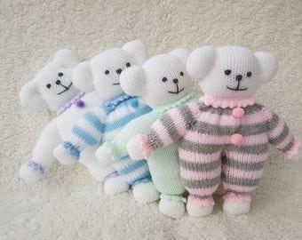 Hand Knitted Polar Bears