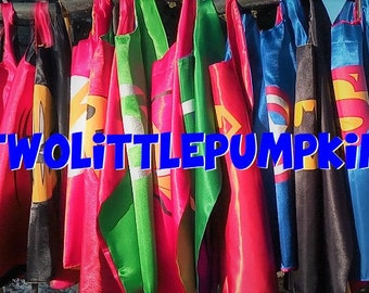 Superheroes Kids Capes