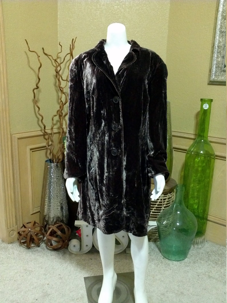 9487523c60f Coldwater Creek velvet dress tunicMIDI dress cocktail | Etsy