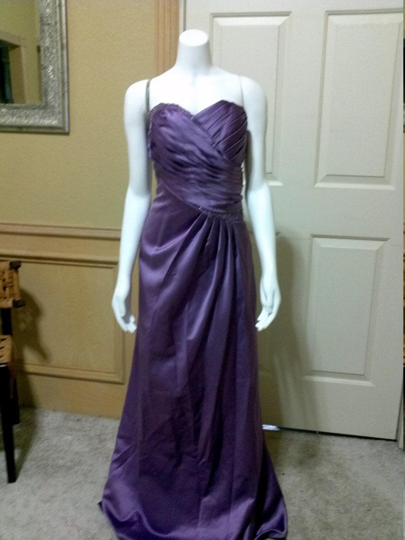 9cf36a617224 Davids Bridal Mauve Evening dress Mermaid wedding party dress | Etsy