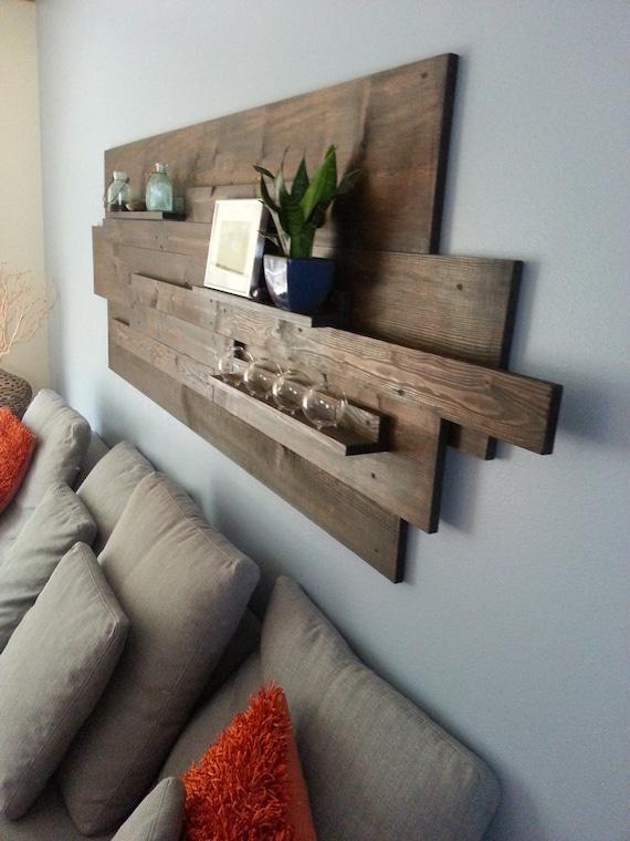 Modern/ Rustic/ Industrial Reclaimed Wood Wall Art Great ...