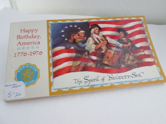 95b0c0c4847 Vintage American Legion Spirit of 76 Bicentennial Collectible