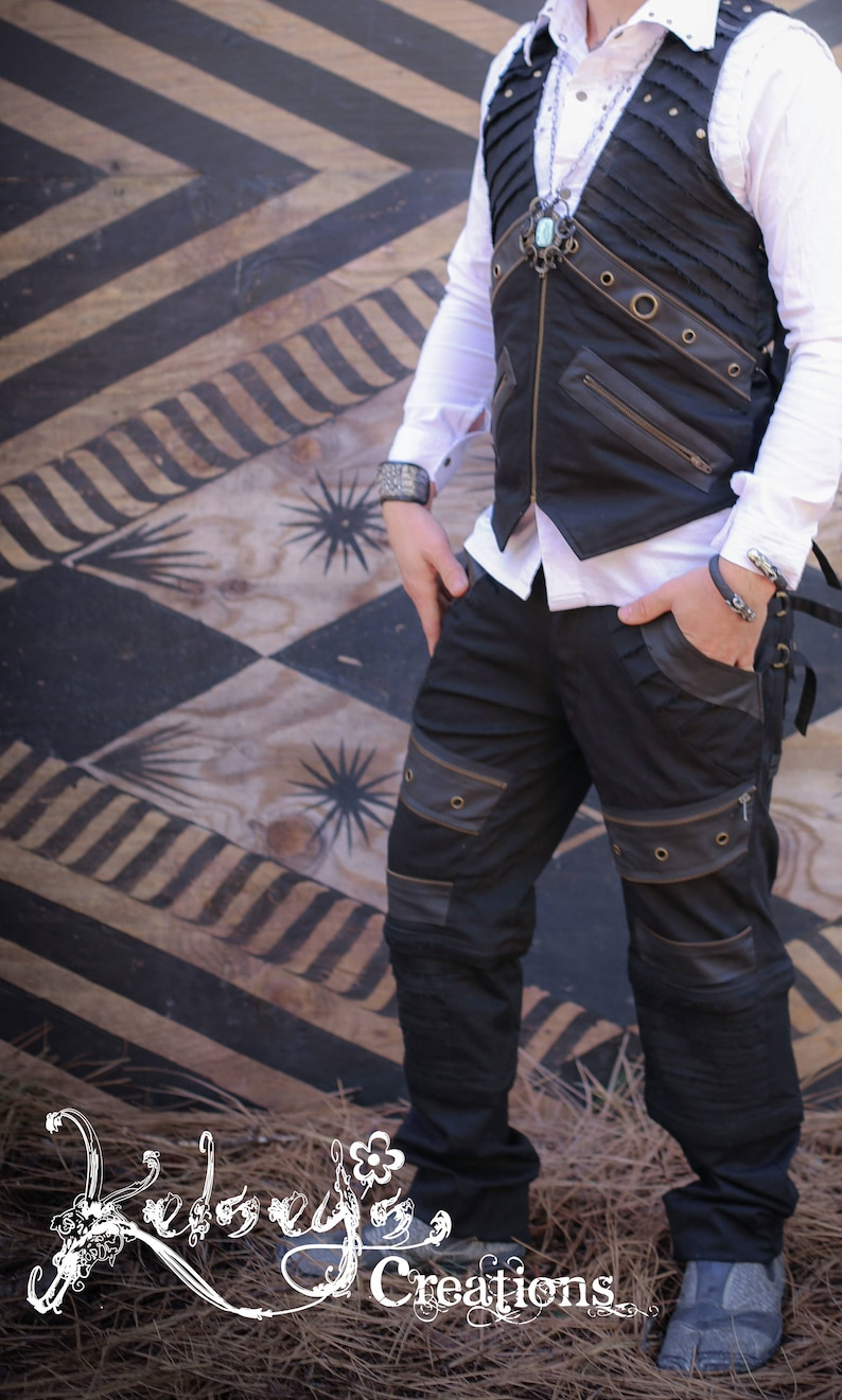 41c9d564e1670d Steampunk Pants for Concert Festival Clothing for Him Cool | Etsy