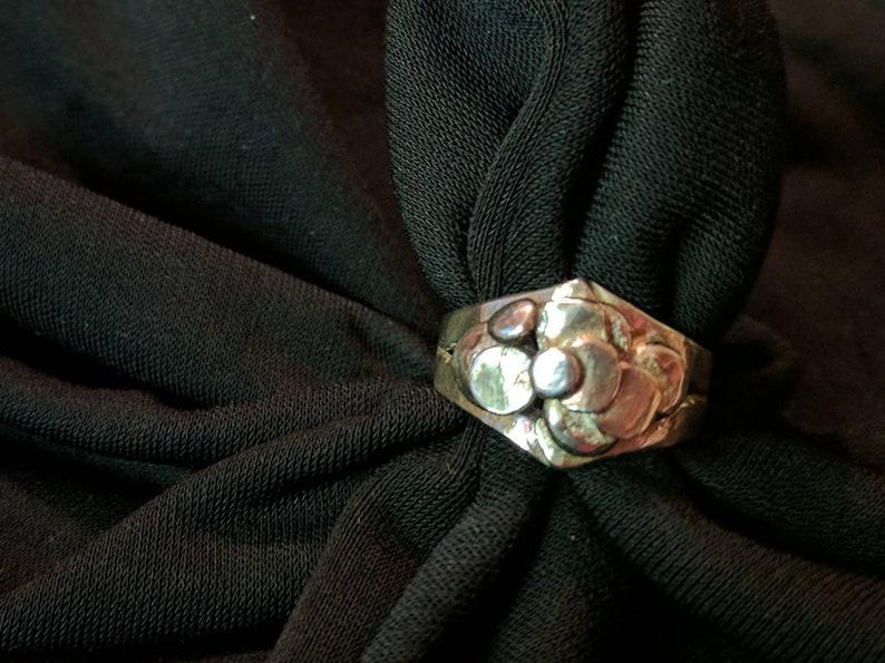 Ebenezer Sterling Ring Size 8 image 0
