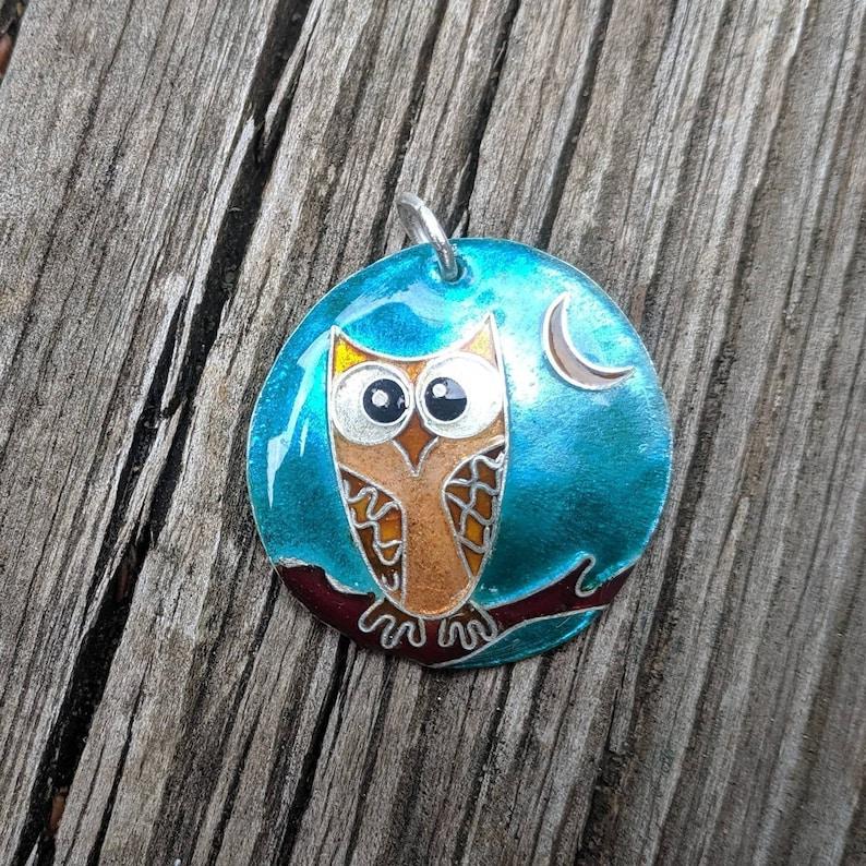 Mertle Cloisonne Owl image 0