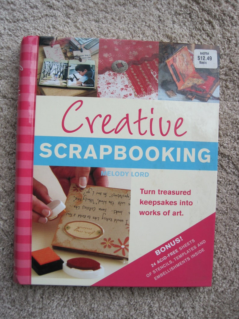 Creative Scrapbooking - Turn Treasured Keepsakes Into Works of Art - Melody  Lord