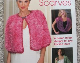 Crochet Pattern Book - Shawls & Scarves - Annie's Attic #876527