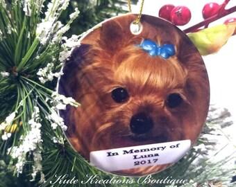 Memorial Pet Ornament/Pet loss Memorial Ornament/Pet Memorial Ornament