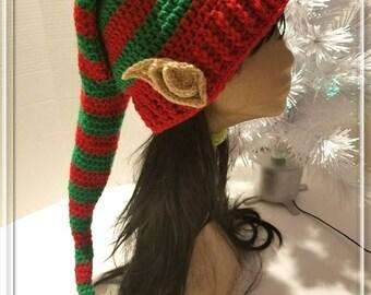 Crochet Elf Hat/Elf Hat