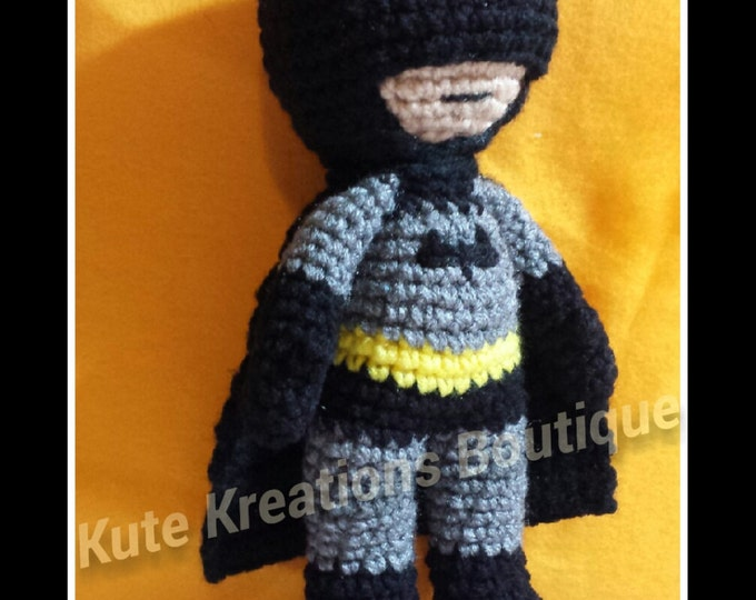 Featured listing image: Inspired Crochet Batman Doll