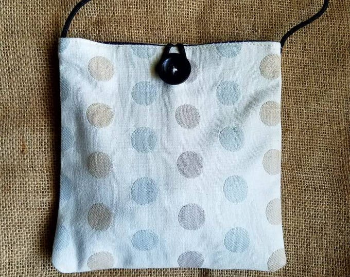 Bungee Sack in Light Blue Dots