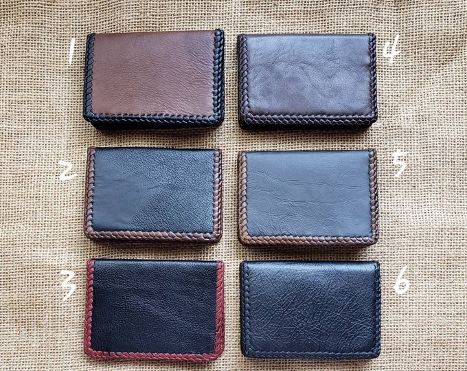 Wallet / Leather Wallets / Leather Men's Wallet/ Father's Day Gift/ Minimalist Leather Wallets