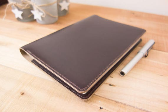 leather taroko enigma or mystique cover a5 notebook cover etsy