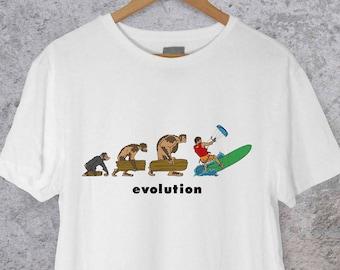Kiteboard - Kitesurf Evolution T-shirt