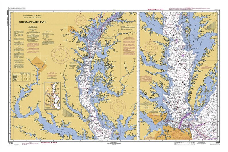 Chesapeake Bay Nautical Chart, Nautical Chart, Chesapeake Bay, Maryland on rockfish gap map, appalachian mountains map, colorado river map, cheapeake bay map, blacklick map, savannah river map, missouri river map, james river map, convoy map, hudson river map, coles point map, greenbackville map, lake okeechobee map, nottoway map, ferrum map, beckley map, wicomico map, detroit map, arkansas river map, mississippi river map,
