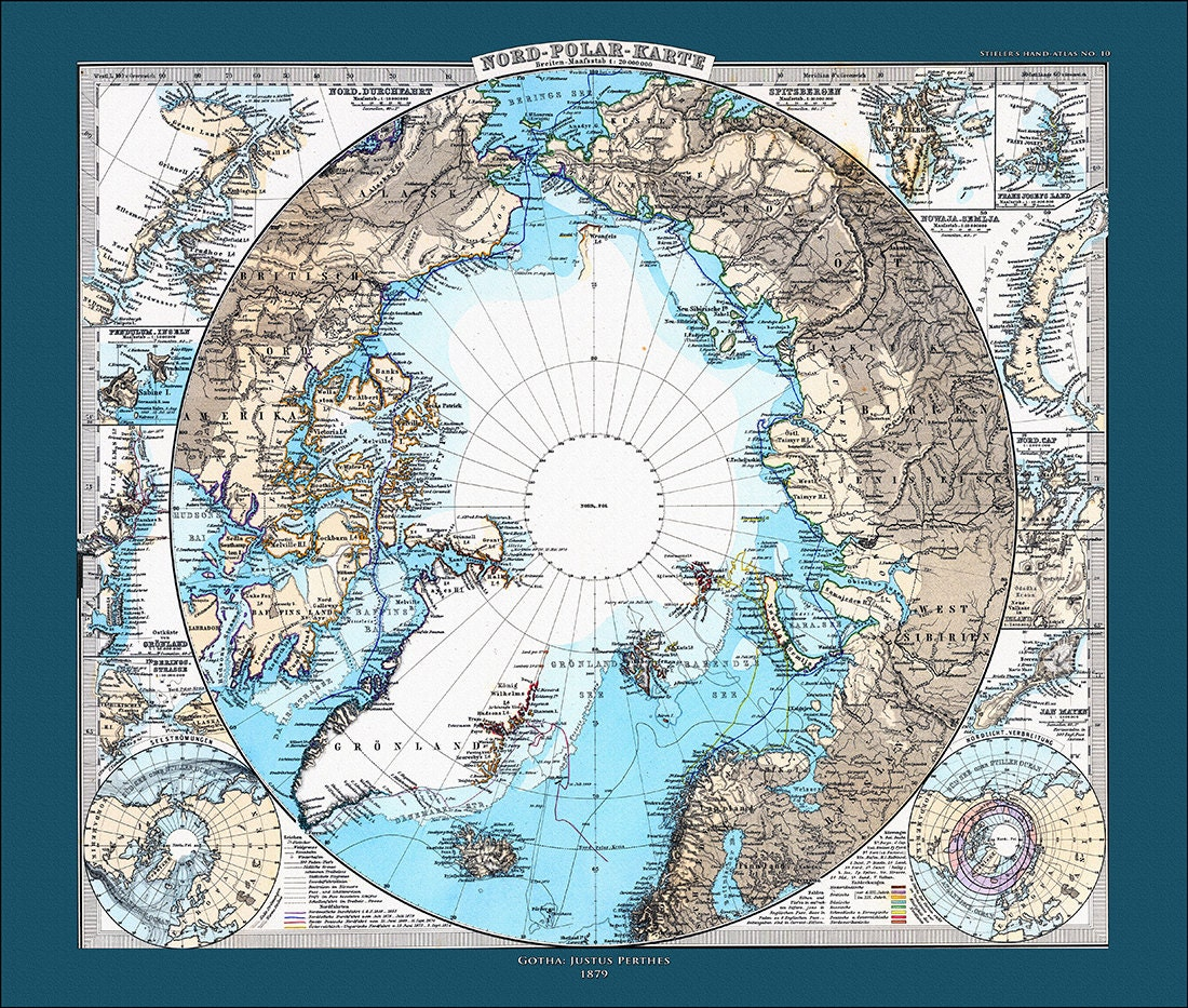 South Pole World Map.North Pole And South Pole Map Set World Map Map Of The World