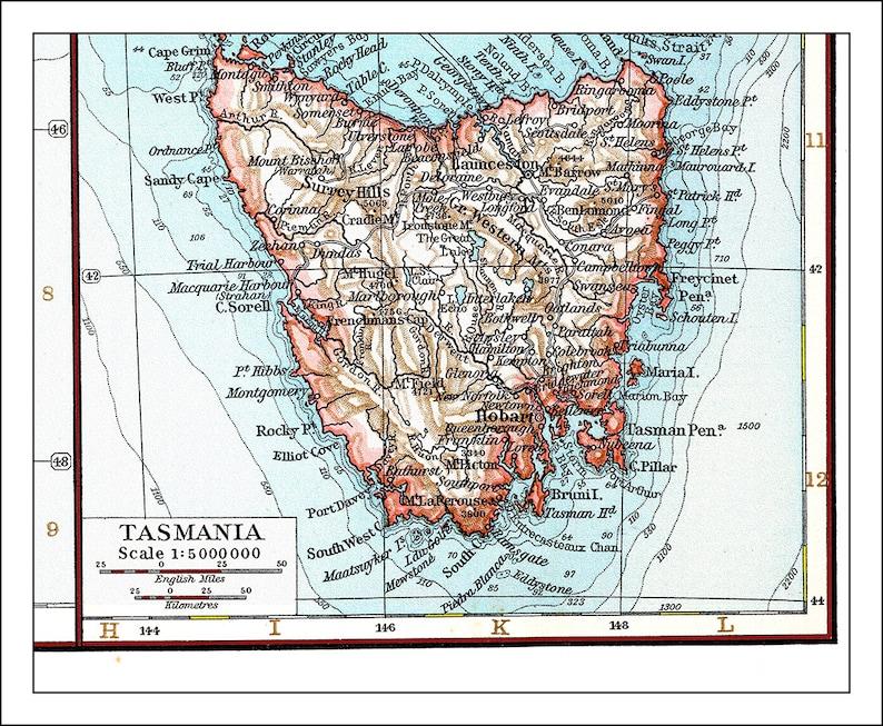 Map Of Australia 1700.New Zealand Map New Zealand Auckland Map Of New Zealand Etsy