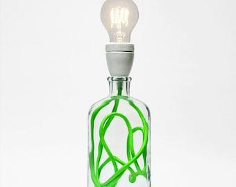 Neon Green Lamp