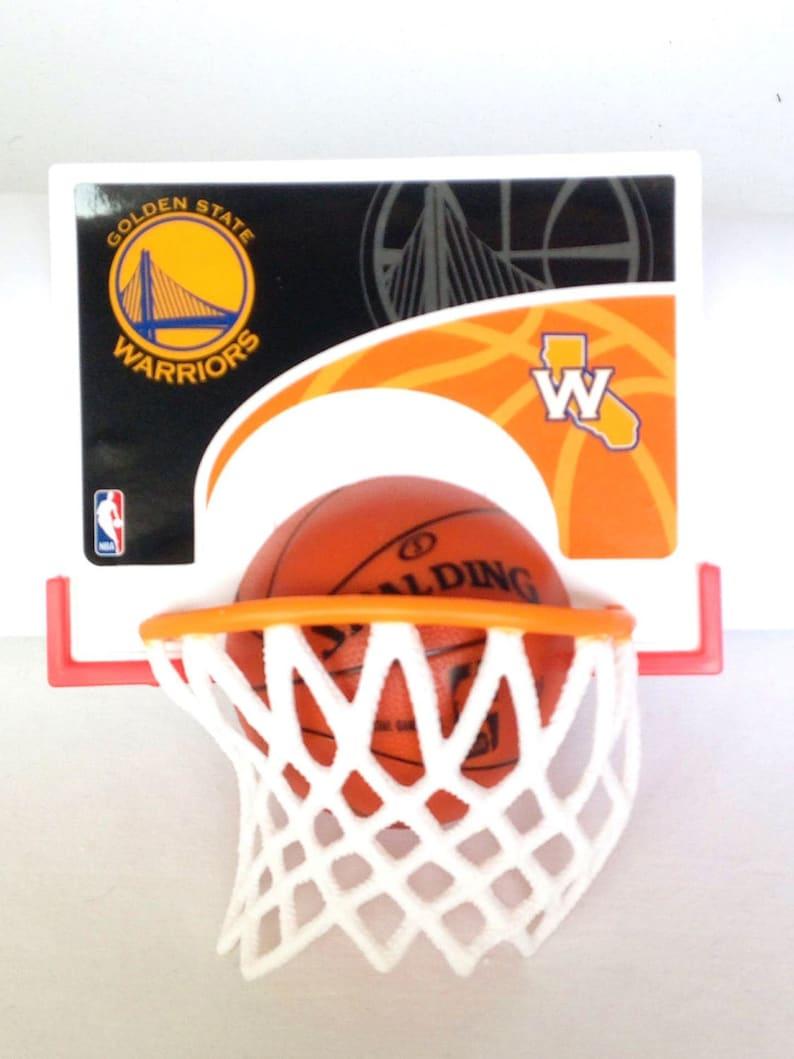 Golden State Warriors Nba Basketball Cake Decorations Kit Party Favors Basketball Hoop