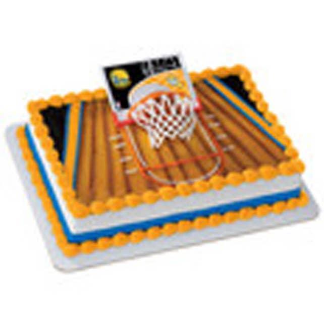 Golden State Warriors Nba Basketball Cake Decorations Kit