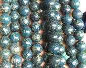 Blue Gold Pyrite jewelry Pyrite Beads strand 16inch Iron Gold Pyrite round Jewelry Making 6 8 10 12mm purple ,red color select