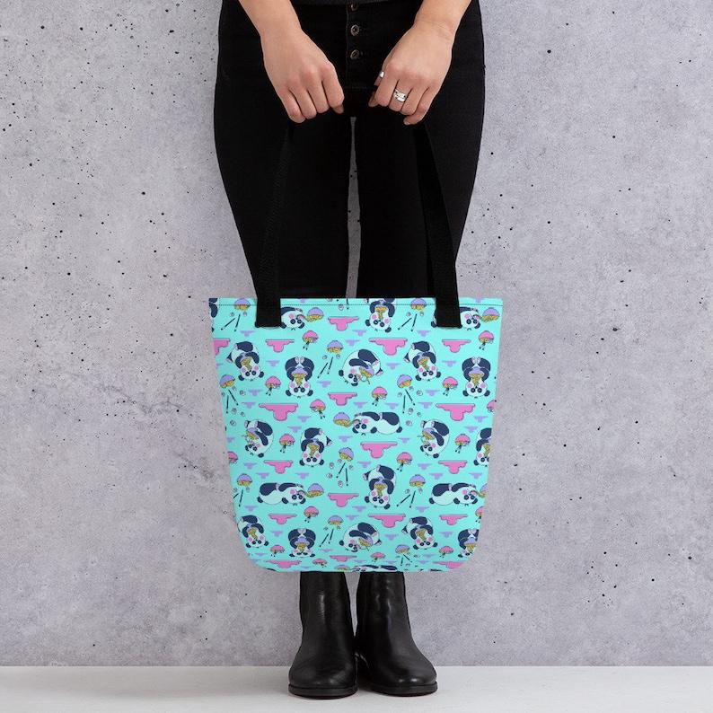 \u00a0Kawaii Gifts Panda Bear Gifts Tote Bag Gifts for Her Cute Panda Bear Tote Bag