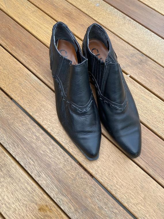 Chilis Black Ankle Boots